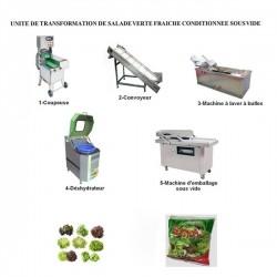 CREEZ UNE UNITE DE TRANSFORMATION DE SALADE VERTE FRAICHE CONDITIONNEE SOUS VIDE (REF.2)