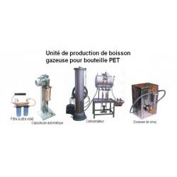 CREEZ UNE MINI-UNITE DE PRODUCTION DE BOISSONS GAZEUSES EN BOUTEILLES PET